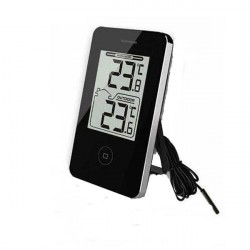 Digital thermometer black,